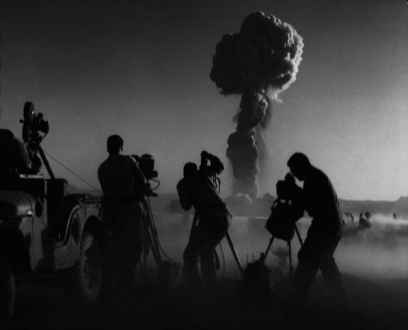 Eerie Nuclear Bomb Photography