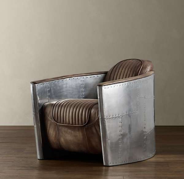 bomber plane aviator chair