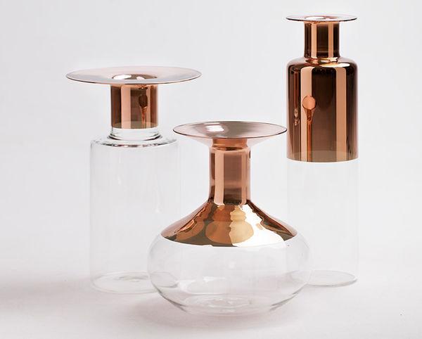 60s-Inspired Vases