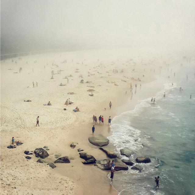 Overcast Beach Photography
