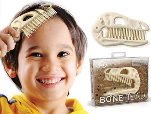 Bonehead Folding Brush and Comb