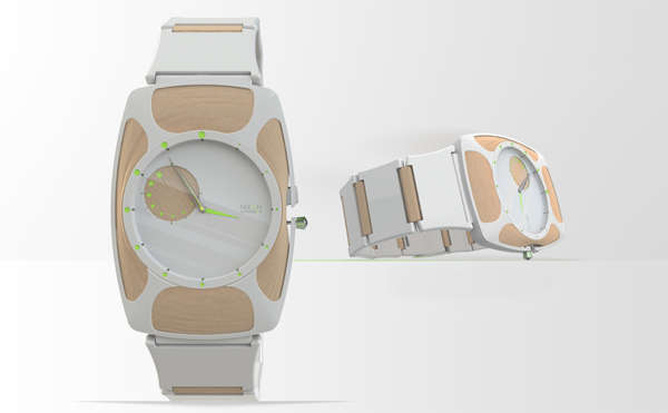 Simplistic Skeletal Watches