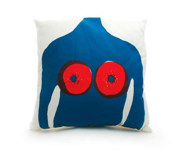 Bold Bosom Pillows