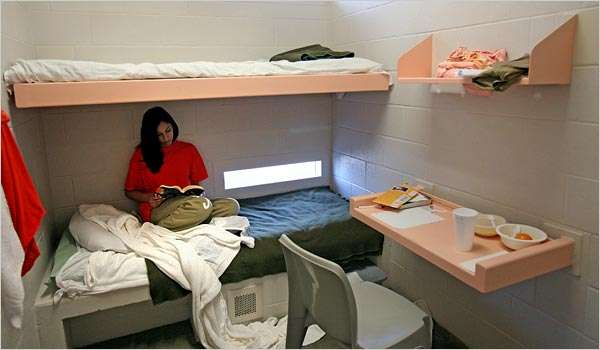 Upgradable prison stays book a five star jail cell for - How much do interior designers get paid ...