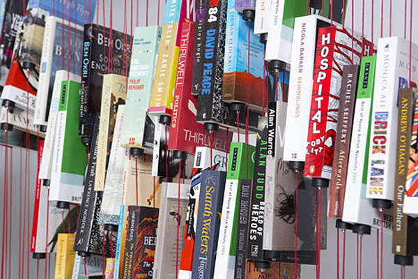 Anti-Gravity Book Displays