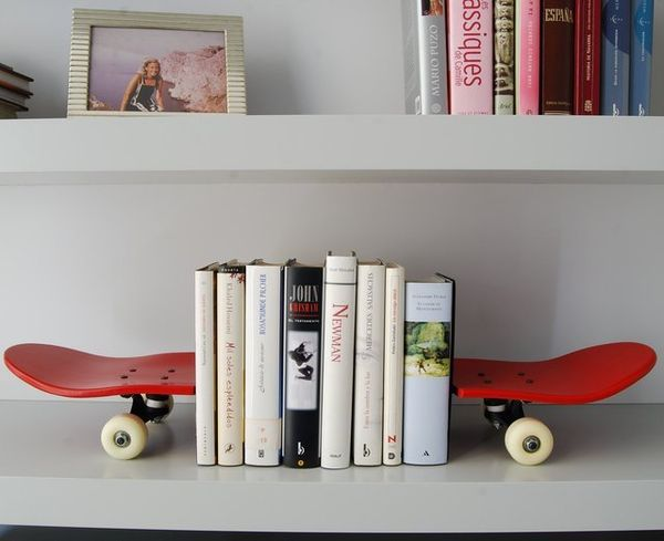 Skateboard Book Rests