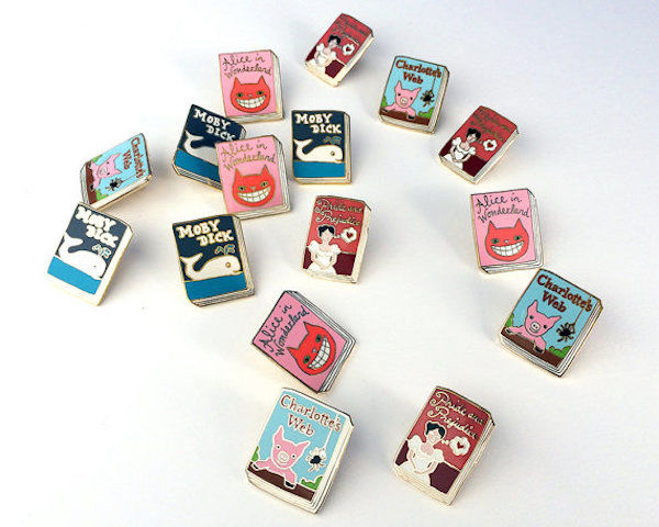 Literature-Inspired Pins