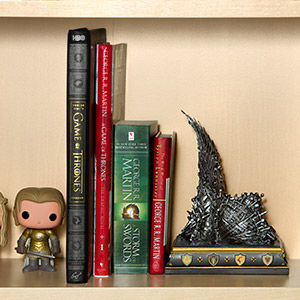 Fantasy Throne Bookends