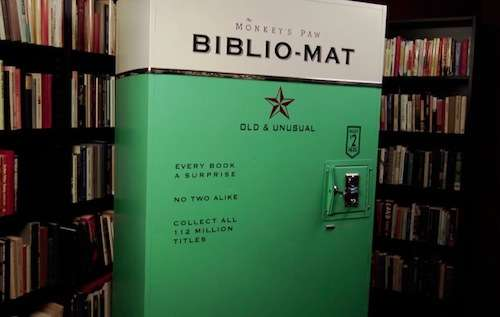 Vintage Book Vending Machines