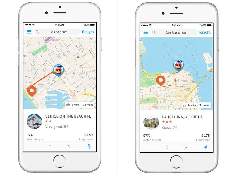 Spontaneous Travel Apps