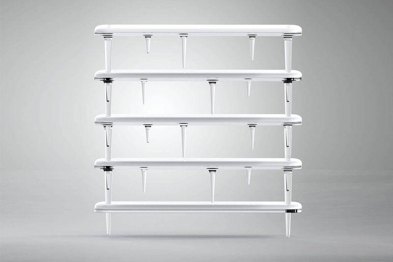 Melting Icicle Bookshelves