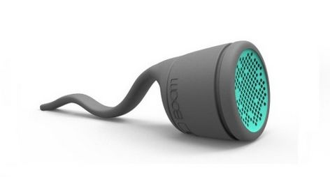 Tadpole-Inspired Waterproof Speakers