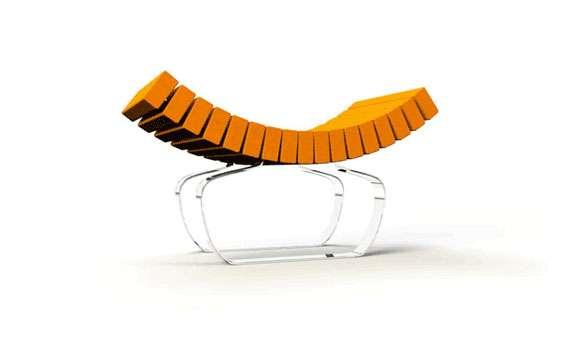 Orange Sponge Seats