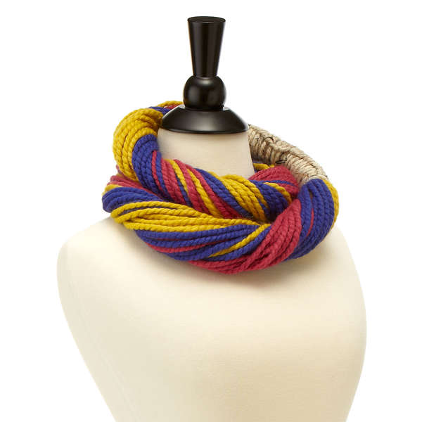 Multicolored String Scarves