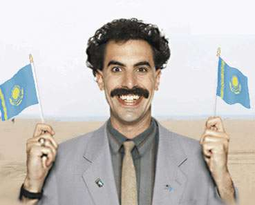 Borat Speaks to CNN