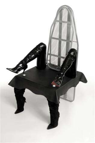 Stiletto Boot Arm Chairs