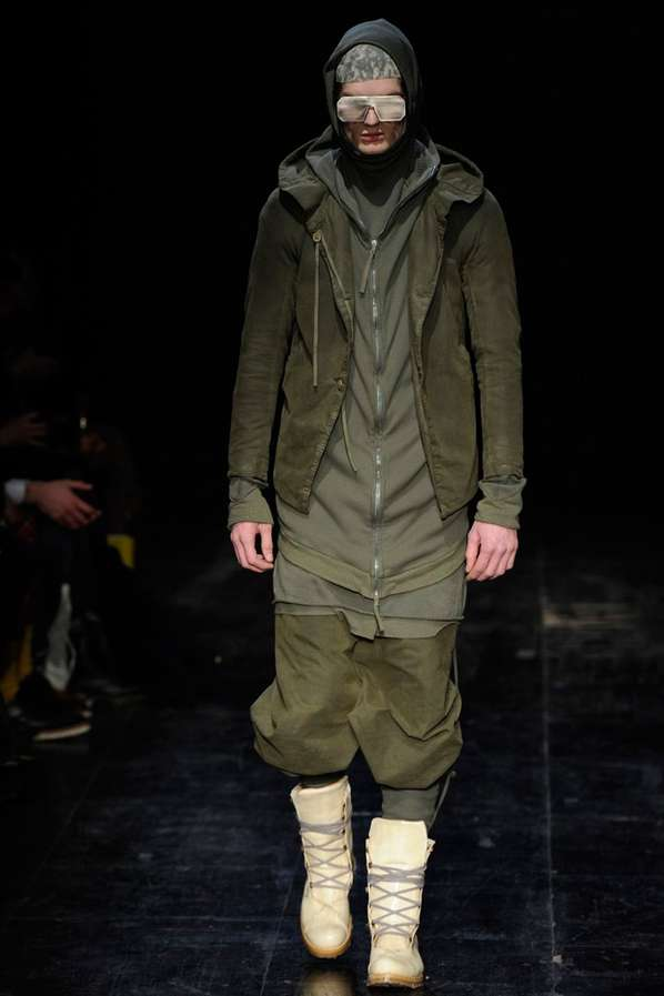 Futuristic Army Apparel
