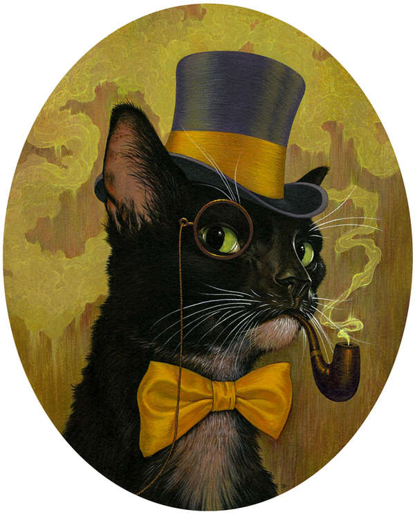 Debonair Animal Depictions