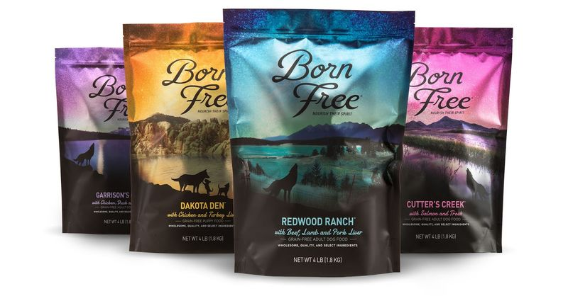 Nature-Themed Pet Food