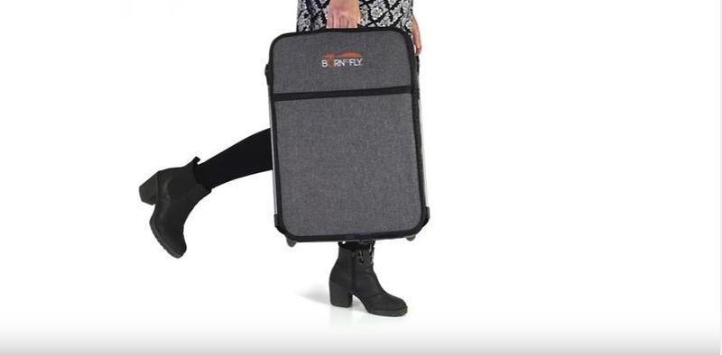Transformative Stroller Suitcases