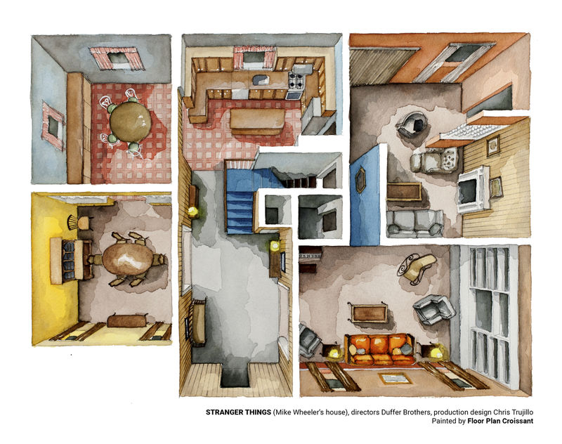 Horror Series Floor Plans