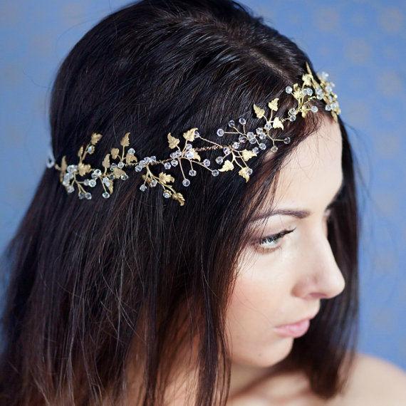 Delicately Botanical Headpieces