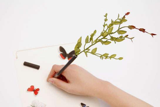 Unusual Plant-Holding Pens