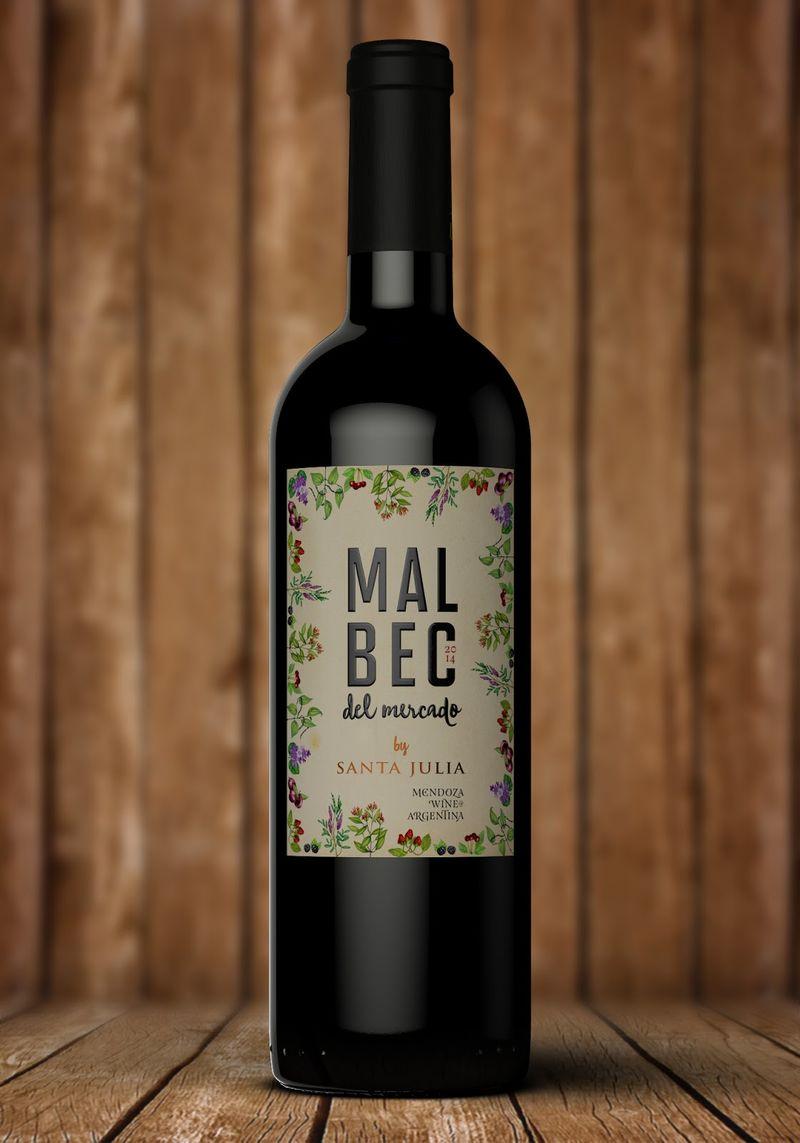 Botanical Wine Labels