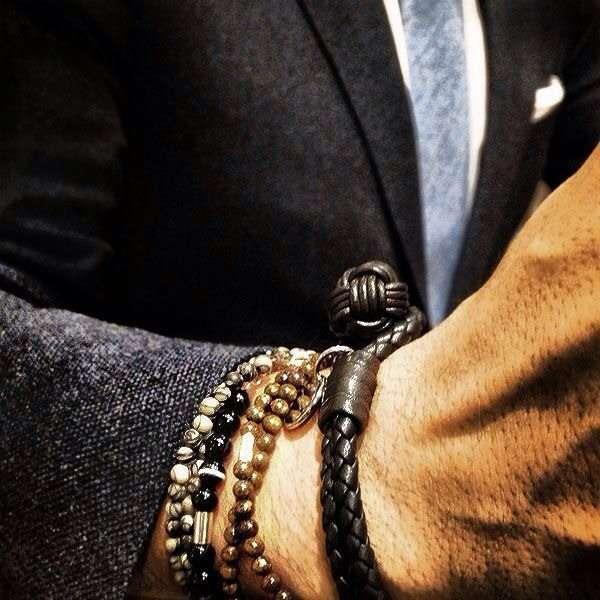 Masculine Woven Bracelets