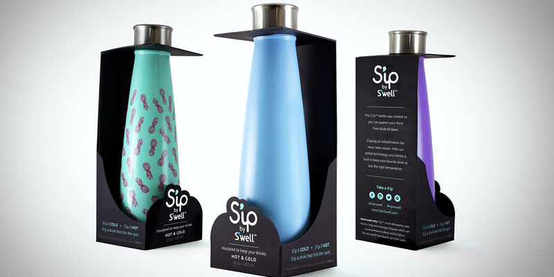 Bare Water Bottle Packaging
