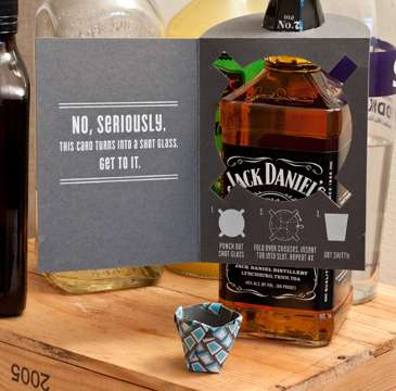 Liquor-Shooting Cards
