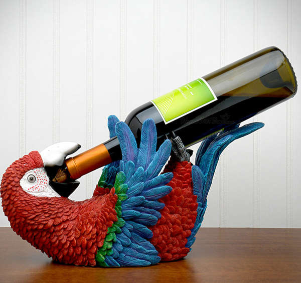 Drunken Parrot Bottle Holders