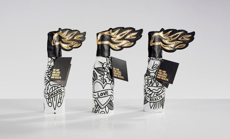 Molotov Cocktail Packaging