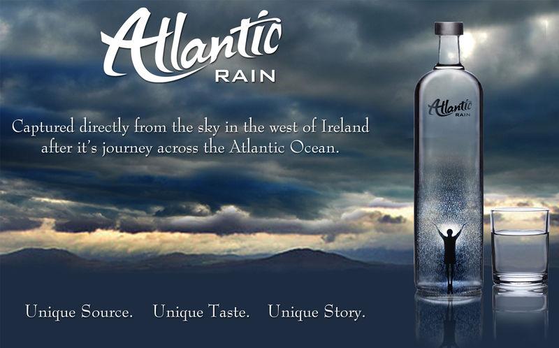 High-End Bottled Rainwater