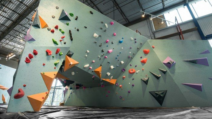 Expansive Bouldering Facilities