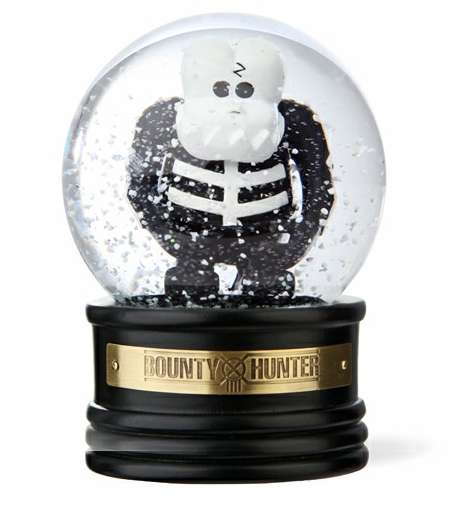 Skeletal Snow Globes