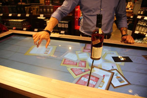 Touchscreen Sampling Bars