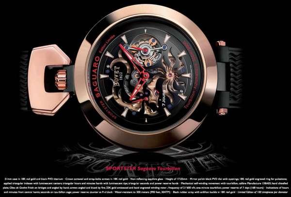 Hyper-Detailed Watches