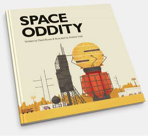 Bowie Space Oddity Book