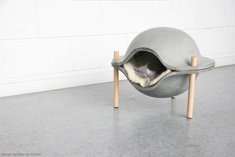 Concrete Pet Beds
