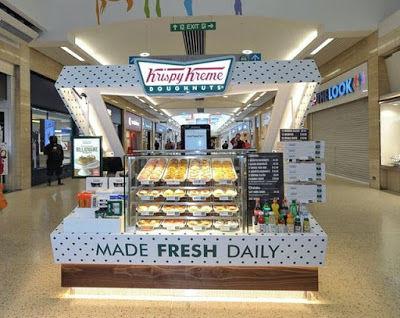 Box-Shaped Donut Kiosks
