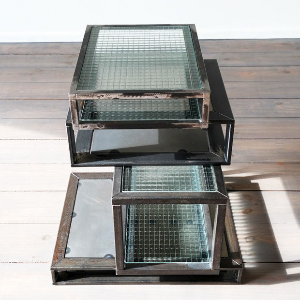 Stacked Glass Furnishings