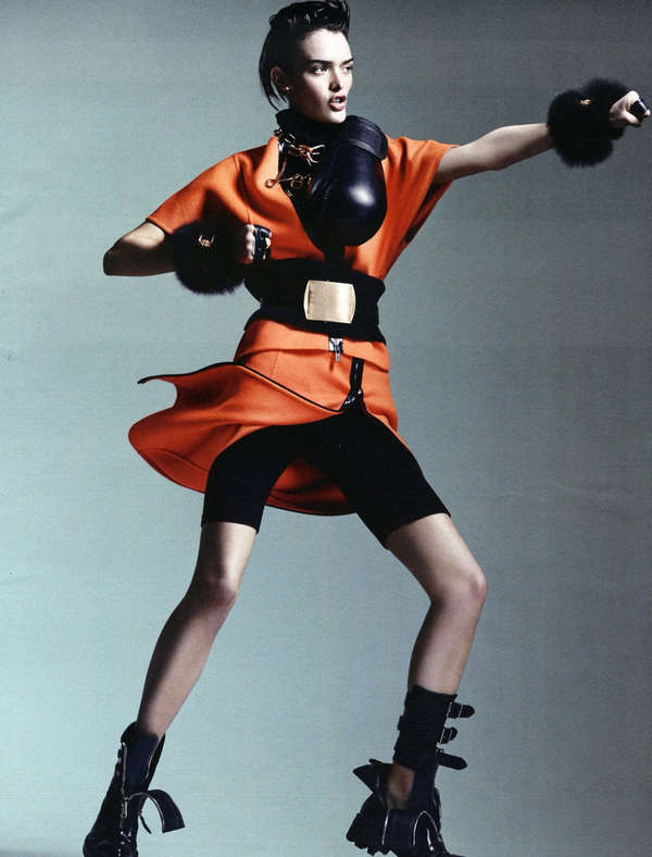 Androgynous Boxer Fashion
