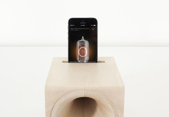 Wooden Boxy Speakers