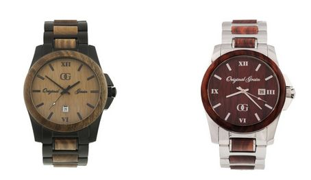 Wooden Androgynous Watches