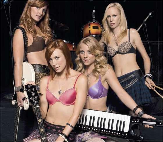 Branded Bands The Vassarettes Sad Business Woman Tied Up