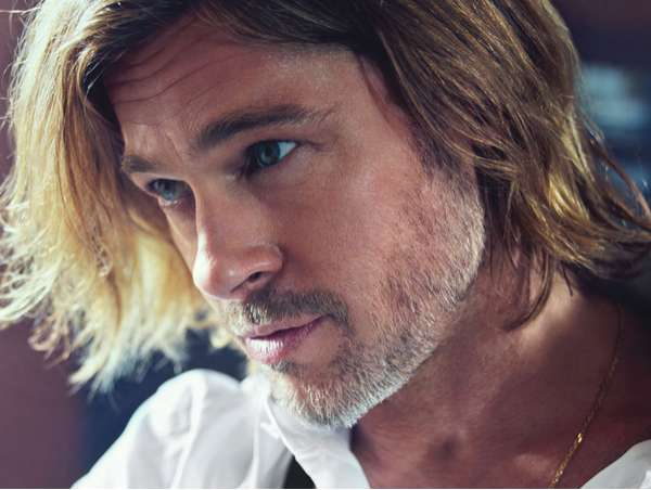 Brad Pitt by Mario Sorrenti