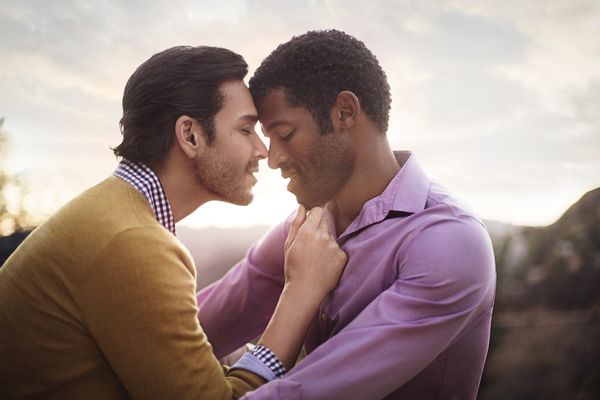Diverse LGBT Couple Photography
