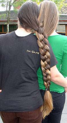 Astonishing Braided Bonding Close Companionship Via Self Inflicted Conjoined Hairstyles For Men Maxibearus