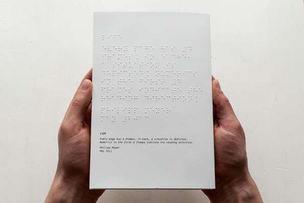 Braille Graphic Novels